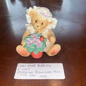 Cherished Teddies 'Violet'